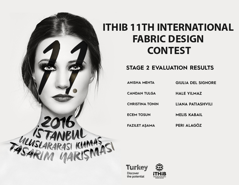 Ten finalists of the 11th International Fabric Design Contest were announced