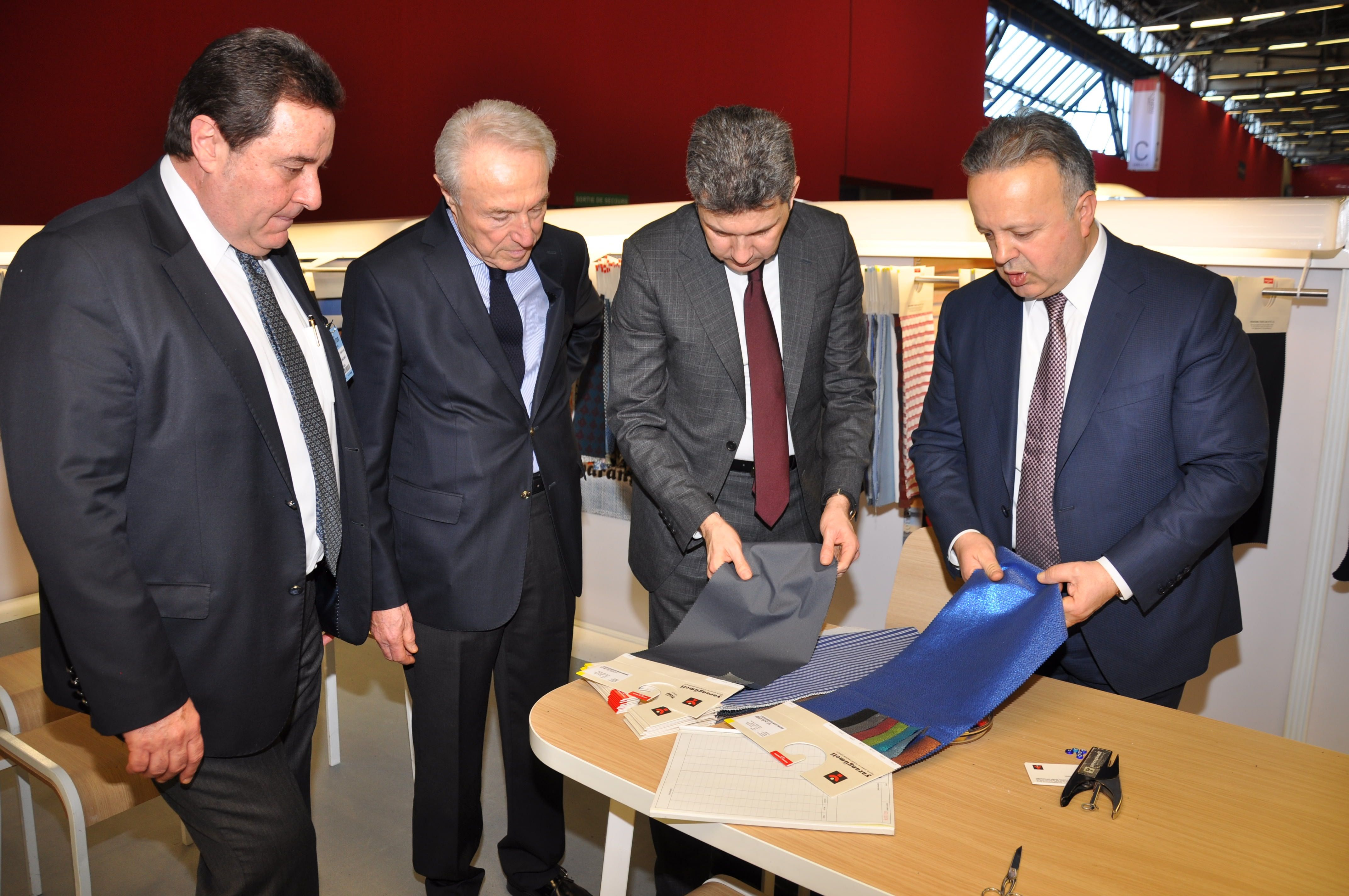 Première Vision Fabrics Fair Opened Its Gates with ITHIB National Attendance